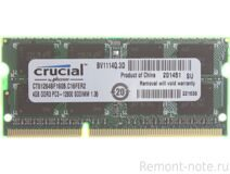 Модуль памяти DDR3 4GB PC12800 Crucial CT51264BF160B